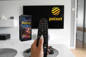 Homo Enter w Polsat News